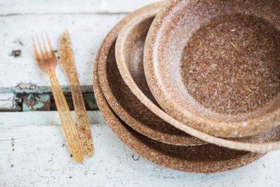 Biotrem naczynia z otrąb pszennych